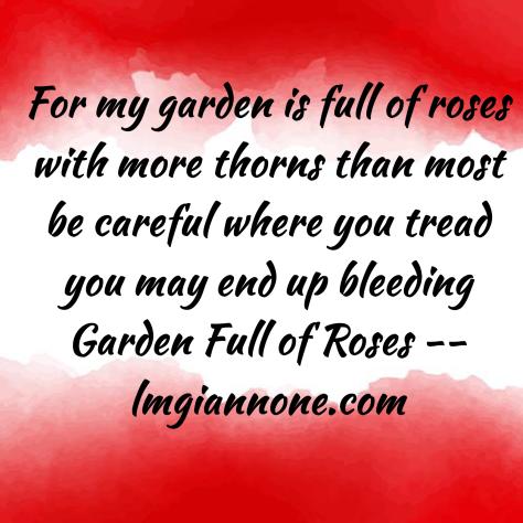 Garden Full of Roses