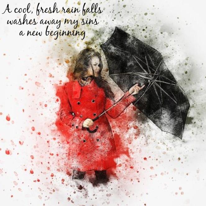 haiku-rain
